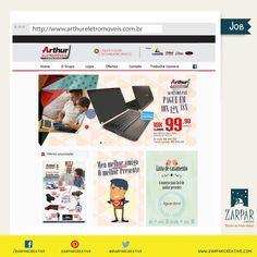 www.arthureletromoveis.com.br