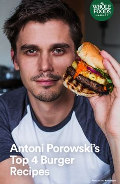 Get prepared to swoon over these burgers. Antoni Porowski, home chef and television star, calls them his ultimate dream burgers.