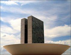 Oscar Niemeyer, Brasilia.