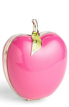 Kate Spade Far From The Tree Apple Clutch in Pink (Apple Red) Hot Pink, Pink Love, Pretty In Pink, Pink And Green, Pink White, Perfume, Vintage Pink, Pink Apple, Everything Pink