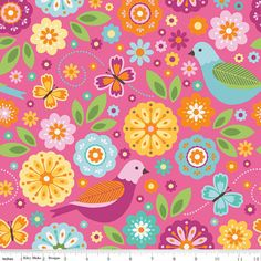 SALE   Summer Song 2 by Zoe Pearn  Riley by MaximizeYourFabric