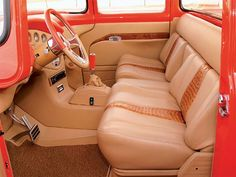 1956 Ford F100 custom Interior