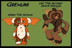 Gremlins - New Mogwais 6 - Leena and Lee by GearGades.deviantart.com on @DeviantArt