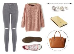 """""""#87"""" by myheartisfeelings ❤ liked on Polyvore featuring Furla, Converse, Goldgenie, women's clothing, women, female, woman, misses and juniors"""