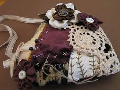 sewing Chatelaine swap by gilded cage design, via Flickr