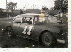 The Ironman Jack Ingram Car Photos, Car Pictures, Jack Ingram, 1955 Chevrolet, Old Race Cars, Dirt Track Racing, Vintage Race Car, Nascar, Cool Cars