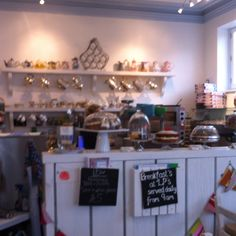 Lp's coffee and tea shop, seaview, iow.