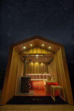 Gallery - Arbor Sauna — Heartwood Saunas Building A Sauna, Sauna Shower, Sauna House, Traditional Saunas, Outdoor Sauna, Sauna Design, One With Nature, Garden Studio, Site Visit