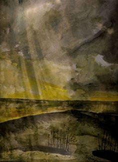 'Thunderstorm' von Marie Luise Strohmenger bei artflakes.com als Poster oder Kunstdruck $19.41