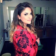 Lana Zangana hair and make-up by Helin Atalay