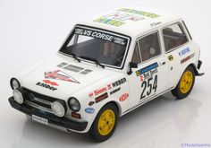 Autobianchi A112 Abarth 1978, Rally Valli Piacentine, No.254, Tabaton/Rogano. Laudoracing Models, 1/18, No.LM091A, Limited Edition 150pcs. 140€ (3.780 Kc)