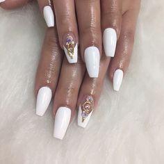Crystals from @oceannailsupply #acrylicnails #nails #miaminails #miaminailtech #miaminailsalon #miaminailart #nailsdid #nailsdone #nailporn #nailswag #dopenails #coffinnails #nailstagram #instanails #nailsoftheday #nailsonfleek #nailsofinstagram #nails2inspire #nailpromote #nailpolish #nailartaddict #nailartclub #manicure #whitenails #swarovski #swarovskinails #swarovskicrystals #naildesign #instanails #nailfie #nailartwow