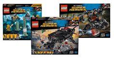 LEGO Justice League : quelques visuels officiels des trois sets prévus: En attendant mieux et même si la surprise est éventée depuis… #LEGO