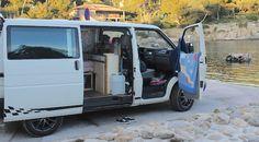 VW Bus T4 Innenausbau Ideen