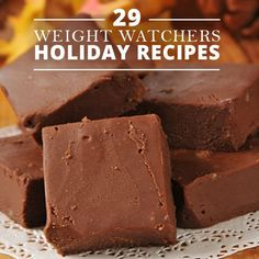 29 Weight Watchers Recipes - Easy and delicious recipes for the holidays. #weightwatchers #recipes