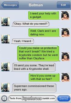 Texts from Superheros | Capcy