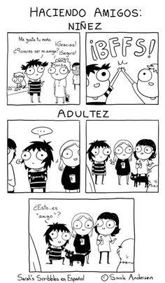Niñez vs adultez