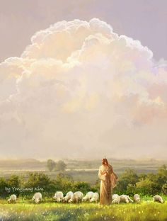 The Lord is the Good Shepherd by Yongsung Kim