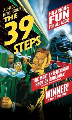"""Great local production of """"The 39 Steps"""" with OkState Theatre Dept (March 2015)"""
