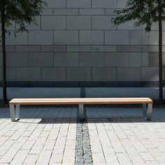 Research and select Products from Westeifel Werke online | Architonic Outdoor Sofa, Outdoor Furniture, Outdoor Decor, Metal And Wood Bench, Laser Cut Steel, Ral Colours, Urban Furniture, Hardwood, Design