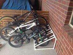 pvc bike rack | Best space-saving bike rack solutions | The Owner-Builder Network