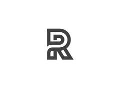 R . Typo . Typography . Tipografia . Letter .