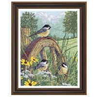 Meadow's Edge Counted Cross Stitch Kit