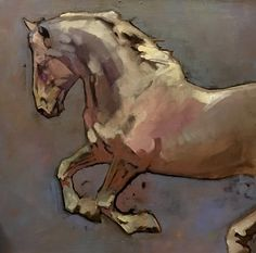 Peggy Judy, Tight Reign, acrylic, 20 x - Southwest Art Magazine Horse Drawings, Animal Drawings, Horse Canvas Painting, Knife Painting, Photo Animaliere, Southwest Art, Animal Paintings, Horse Paintings, Equine Art