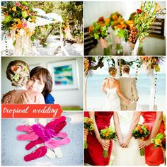 Tropical Destination Wedding.