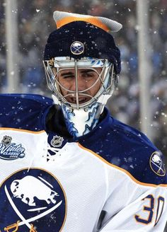Buffalo Sabres goalie Ryan Miller Winter Classic