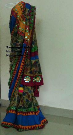 Kalamkari saree from swarnagiri.kalam To order this saree inbox me to swarnagiri.kalam
