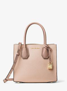 e7a061ebabb3 Michael Kors Mercer Color-Block Leather Crossbody Handbags Michael Kors