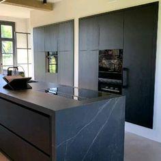 Luxury Kitchen Design, Kitchen Room Design, Home Room Design, Interior Design Kitchen, Interior Modern, House Design, Kitchen Ideas, Modern Kitchen Island, Rustic Kitchen