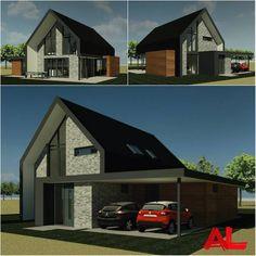 Nieuwe opdracht! Een nieuw te bouwen schuurwoning in Boerakker, Groningen. ---------- #ProjectInUitvoering #Nieuwbouw #Nieuwbouwwoning #vrijstaandewoning#Schuurwoning #Groningen #Architecten #Architecture #ArchitectenBureau #ALarchitectuur #HomeDesign #HouseProject #WorkInProgress