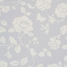 CLARKE & CLARKE CURTAIN FABRIC MEADOW Grey