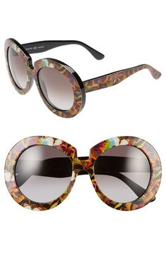 8953e5d300d Valentino 54mm Oversized Gradient Sunglasses available at  Nordstrom  Valentino Sunglasses
