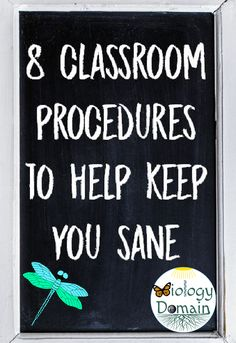 Whether you are a new teacher or a veteran teacher here are 8 classroom procedures to help keep you sane.
