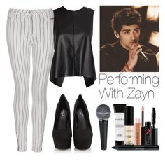 """""""Performing with Zayn"""" by lovatic92 ❤ liked on Polyvore featuring Topshop, rag & bone/JEAN, Smashbox, Carvela Kurt Geiger, OneDirection, zaynmalik, directioner and onedirectionoutfits"""