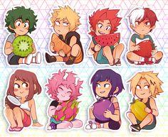 die-cut waterproof white vinyl stickers with matte finish! I plan to restock all the stickers within may! Anime Stickers, Kawaii Stickers, Cute Stickers, My Hero Academia Memes, Hero Academia Characters, My Hero Academia Manga, Anime Life, All Anime, Haikyuu Anime