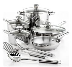 GET: Pots & pans. This is like the most boring gift ever, but I really am going to need pots and pans for when I move out! I'm at the point in my life now where I want some practical and useful gifts.