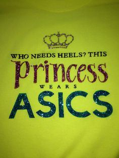 Who needs heels This Princess wears ASICS by heyheyheatherk, $18.50