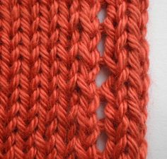 no-curl scarf edge | Daily Fiber Adventures with Wildhare