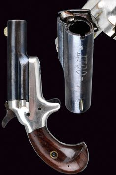 A colt Third Model Derringer.  provenance: USA dating:  last quarter of the 19th Century