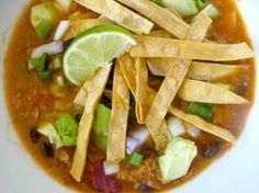 Salt-Free Chicken Tortilla Soup