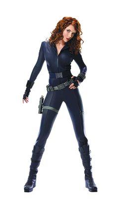 Black Widow (Scarlett Johansson) in Iron Man 2 Scarlett Johansson, Black Widow Scarlett, Black Widow Natasha, Iron Man, Black Widow Cosplay, Black Widow Costume, Black Widow Outfit, Mode Latex, Black Widow Marvel