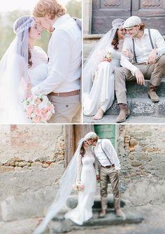 Tuscan wedding by Carmen