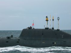 Project 971 Russian submarine.