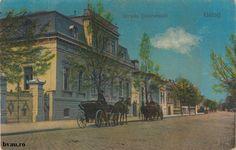 """Strada Domnească, Galati, Romania, anul [191?_].  Imagine din colecţiile Bibliotecii Judeţene """"V.A. Urechia"""" Galaţi."""