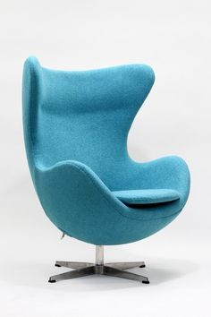 what a sweet blue chair from California Modern Classics