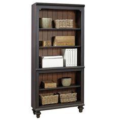 Two Tone Five Shelf Bookcase #bookshelf   National Business Furniture                                                                                                                                                      More